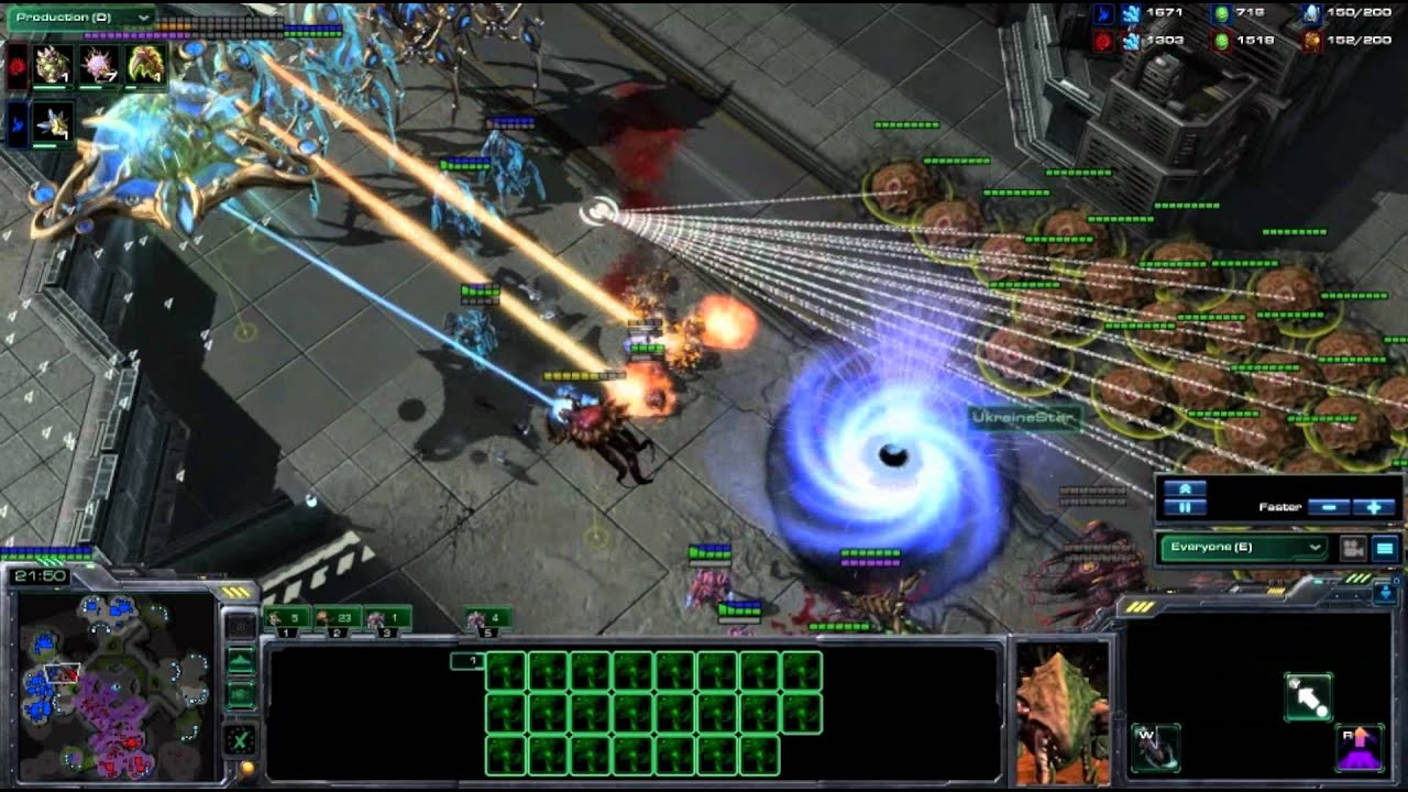 WhiteRa vs UkraineStar - Starcraft 2 Heart of the Swarm