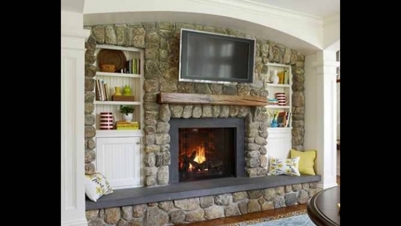tv mounted above fireplace where to put cable box with tv mounted