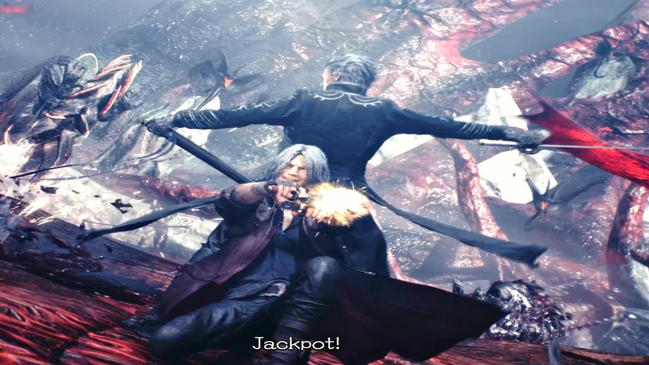 Devil May Cry 5 Vergil Vs Dante Secret Ending Dmc5 2019 Ps4 Pro