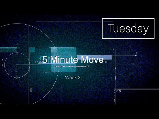 Total Body - Dumbbell - 5 Minute Move - Tuesday