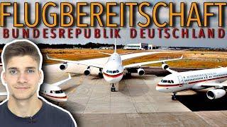 Die FLUGZEUGE der FLUGBEREITSCHAFT! AeroNewsGermany