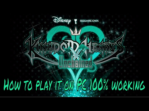 Kingdom Hearts Unchained X: How to play it on your pc 100% (Android devices method)