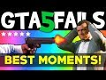 GTA 5 FAILS   WINS  1  BEST GTA V Funny Moments Compilation