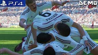 PES 2015 - Gameplay Demo PS4 1080p Real Madrid vs FC Barcelona (PS4 Demos)