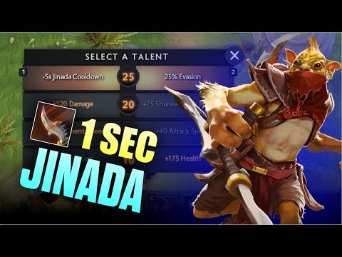 1 Sec Jinada Bounty Hunter Megacreep Comeback by BabyKnight - Top MMR Player | Dota 2