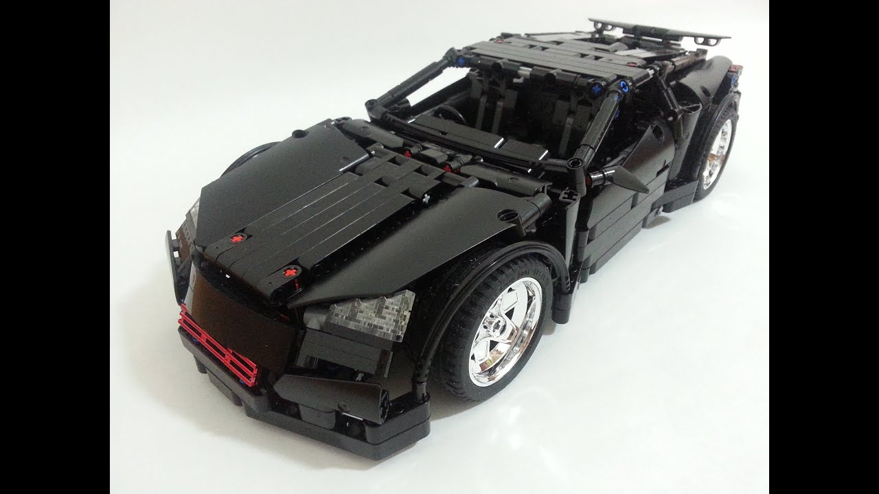 lego technic supercar by madoca1977 time lapse build youtube. Black Bedroom Furniture Sets. Home Design Ideas