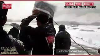 13th Moharram in Suru Valley, Despite of Heavy Snow Fall, Ladakh Times
