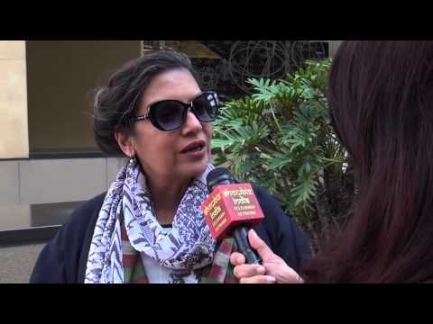 Shabana Azmi Interview by Reshma Dordi on Showbiz India TV