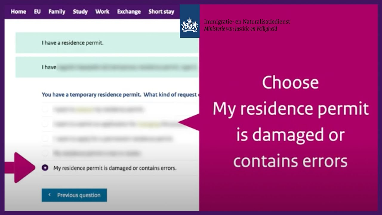 Permit damaged, lost, stolen or change of personal details