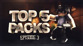 TOP 5 PACKS FOR KOHI | TOP 5 MINECRAFT PVP PACKS EPISODE 3