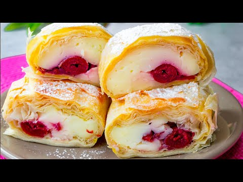 le-remplissage-fait-la-différence-pour-ces-tartes-à-la-crème-vanille-et-cerises|-savoureux.tv