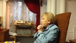 Встреча с Мариэттой Чудаковой (РГДБ, 30.10.2016)