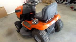 Husqvarna YTH22V46 Yard Tractor Product Review