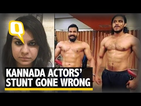 The Quint: Stunt Gone Wrong: Kannada Film Actor Raghava Uday's Tragic Death
