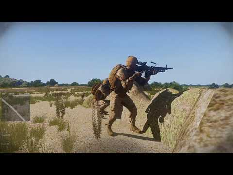 Arma 3: 2ND Marine Division - Main OP - M249 SAW Gameplay