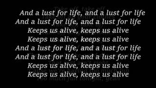 LANA DEL REY - Lust For Life lyrics
