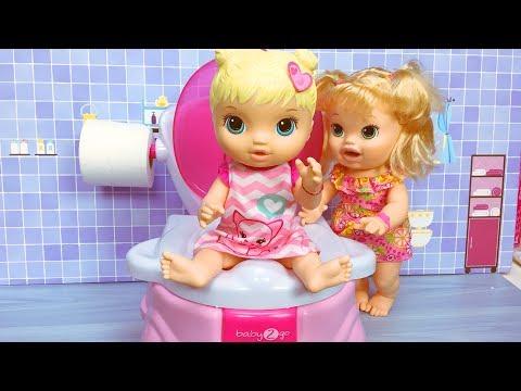 Generate Baby Alive Oyuncak Bebek tuvalette | Evcilik TV Bebek Videoları Screenshots