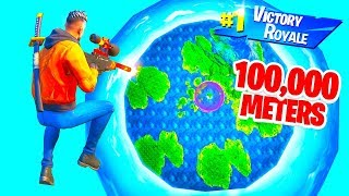 HOW FAR Is The LONGEST POSSIBLE ELIMINATION in Fortnite?