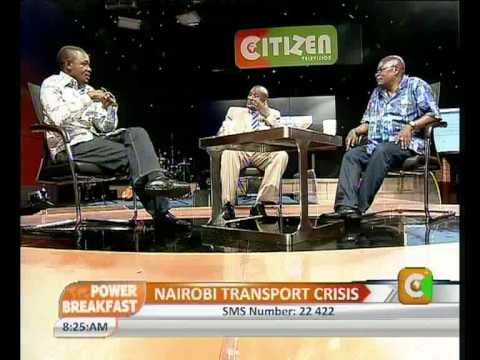 Power Interview with Evans Odieki-Minister of Transport,Nairobi County