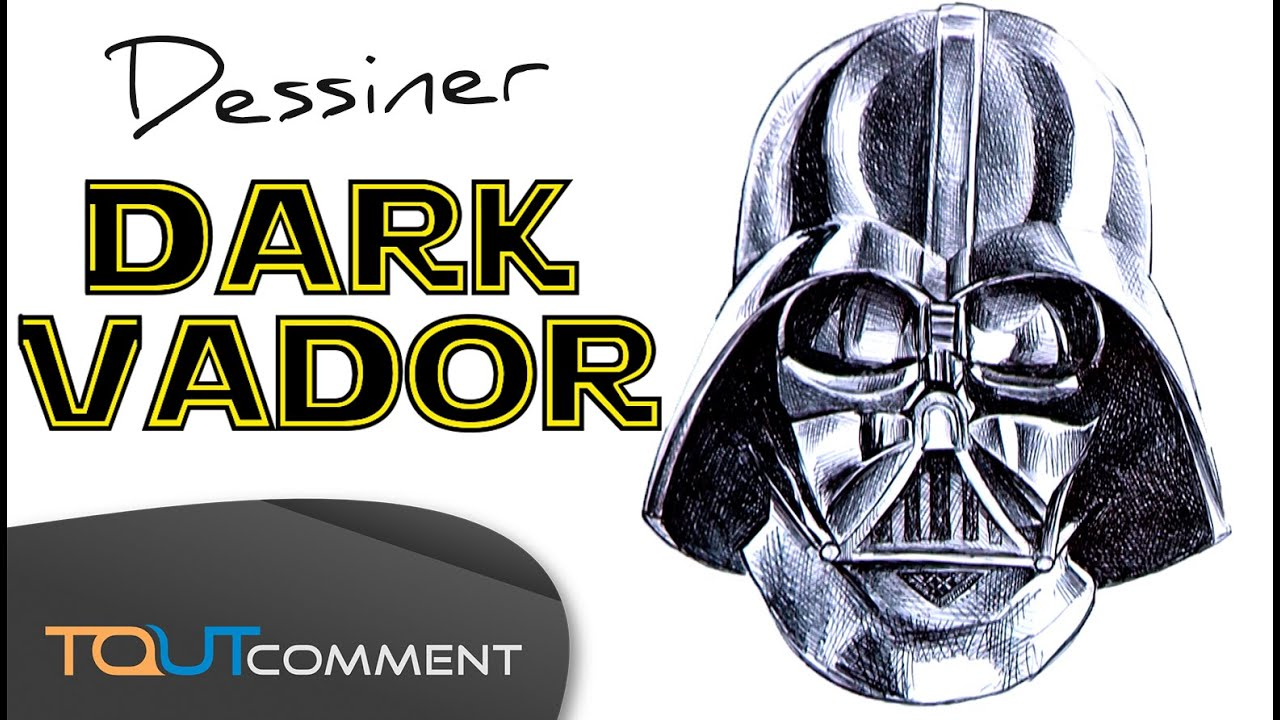 Dessin Star Wars Dark Vador