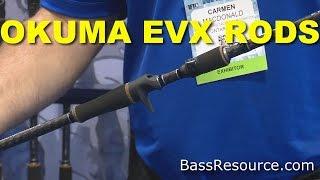 okuma evx series fishing rods   bass fishing