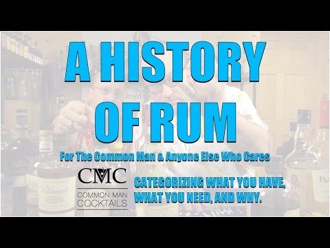 Exploration Series: A History of Rum and Rum Categorization