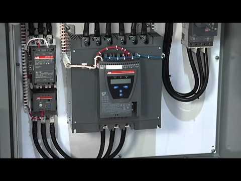 Abb Motor Starter Wiring Diagram Soft Starters Vs Drives Youtube