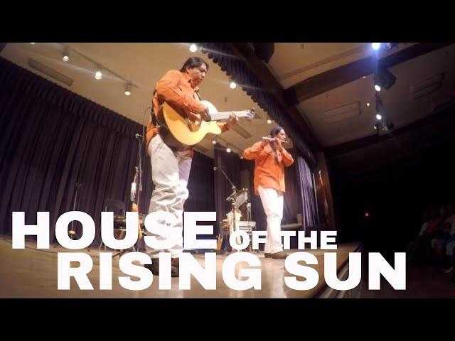 HOUSE OF THE RISING SUN   INKA GOLD LIVE 4K HD