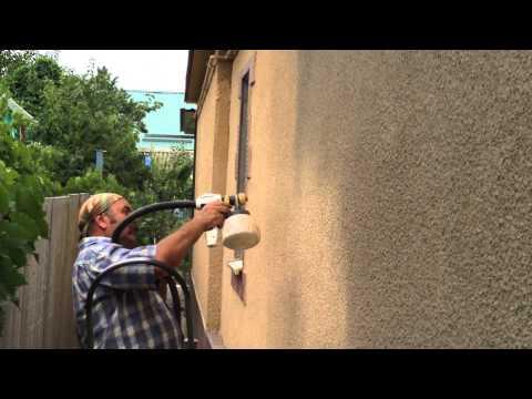 Видео покраска краскопультом Wagner WallPerfect 867