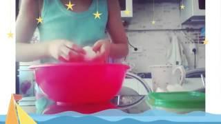 Видео урок как приготовить домашний пластелин (солёное тесто).