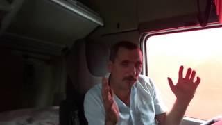 Zagazowania, kradzieże czyli życie kierowcy ciężarówki - Rozmowa z panem Stanisławem