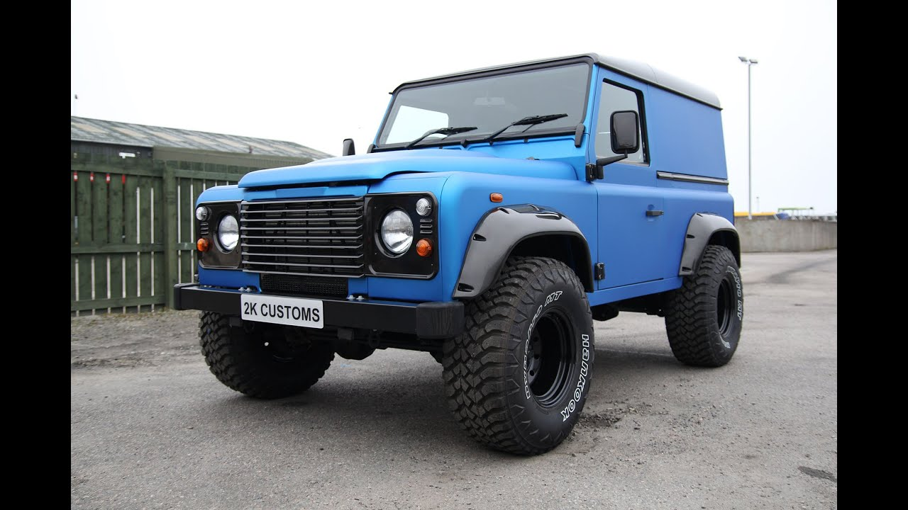 trent many in with rare on defender used sale buy staffordshire rover burton extras landrover for land van