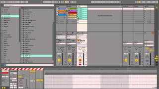 How To Create Record Scratching / Crab Sounds With Two Ableton Live Effects