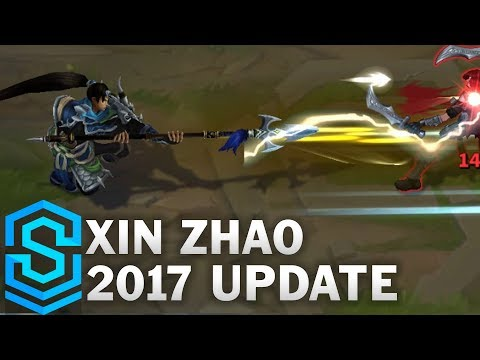 Xin Zhao 2017 Update - All Skins