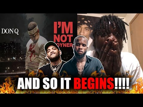 He Going At Joyner & Tory?! | Don Q – Im Not Joyner (Tory Lanez Diss) REACTION!