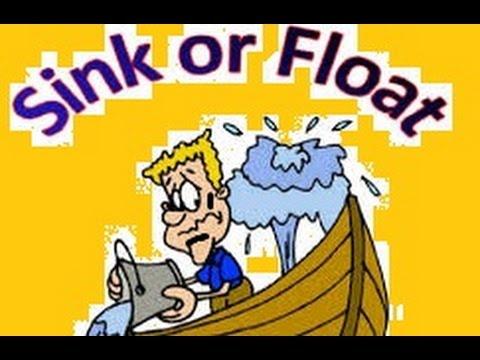 sink and float worksheet