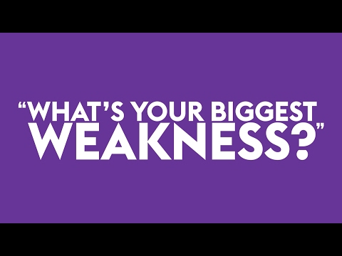 list of strength weaknesses for job interviews monster com