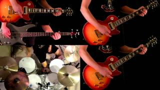 Gambar cover Anything Goes Guns N' Roses Guitar Bass and Drum Cover