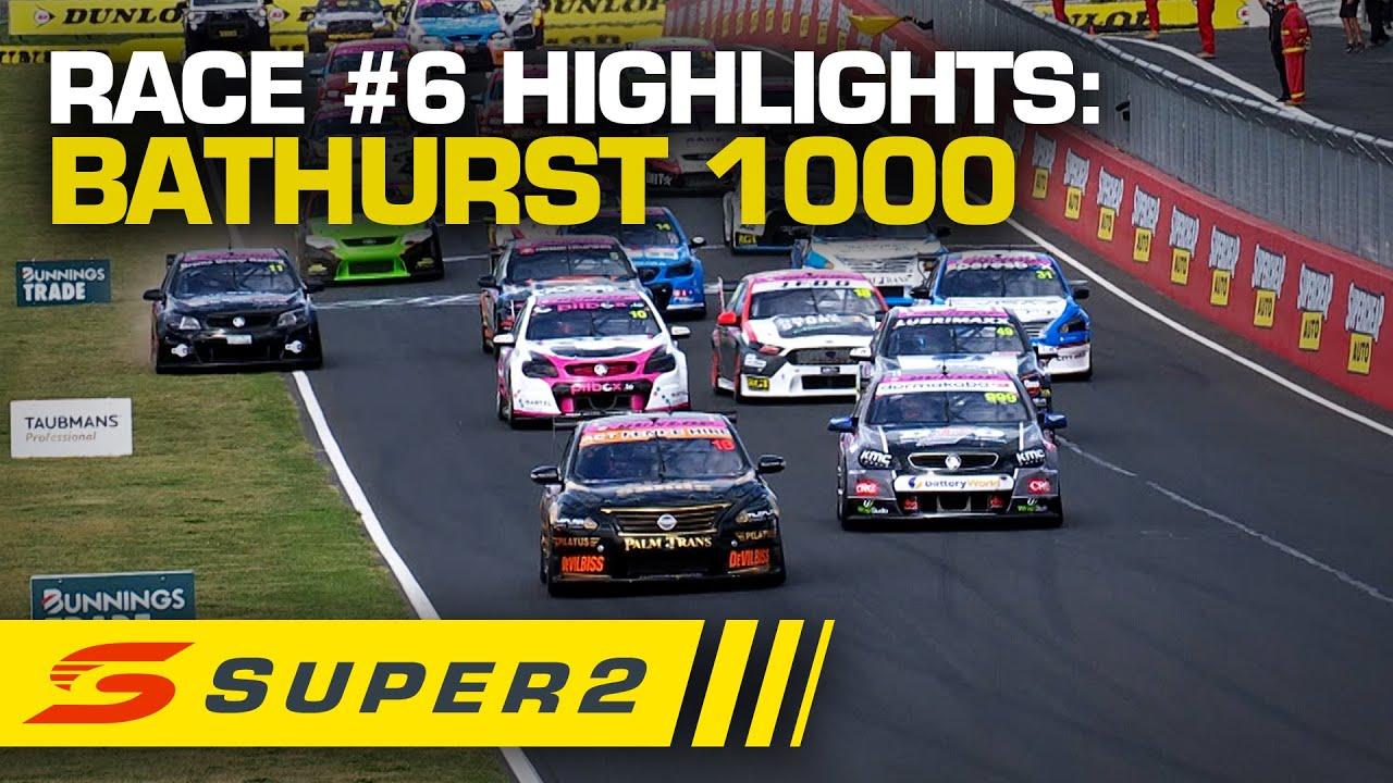 Highlights: Race #6 - Supercheap Auto Bathurst 1000 | Super2 2020