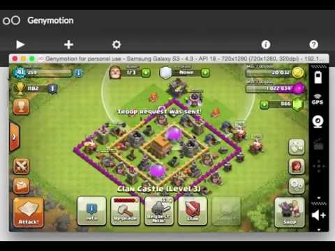 Playing Clash of Clans (COC) on Mac (OS X Yosemite)