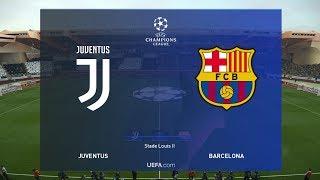 Juventus vs Barcelona / Final UEFA Champions League 2019 / PES 2019 PC Gameplay