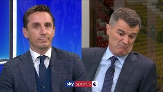 Gary Neville and Roy Keane give passionate and honest reaction to Man United's defeat to Man City