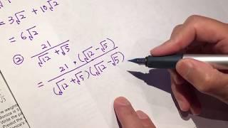 High school math - algebra 2 basic arithmetics 01 asmr screenshot 2