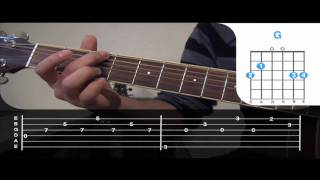 en el muelle de san blas guitarra como tocar tutorial