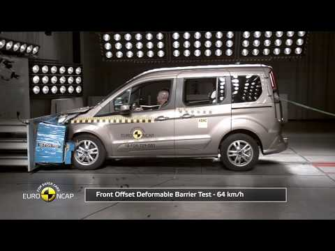 Ford Tourneo Connect, Crash Tests 2018 - Unravel Travel TV
