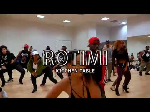 Rotimi Kitchen Table Choreography Aliya Janell Sayquon Keys