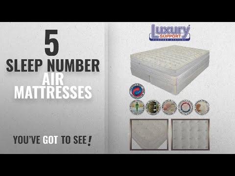 Top 10 Sleep Number Air Mattresses [2018]: King Size INNOMAX® MEDALLION ADJUSTABLE SLEEP AIR BED