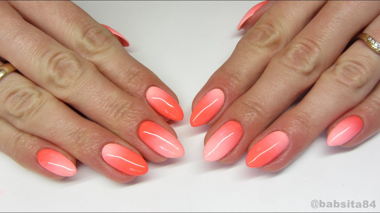 Neon gradient nails neonail playa bonita lotus flower jak neon gradient nails neonail playa bonita lotus flower jak cieniowa za pomoc pdzelka youtube dhlflorist Image collections