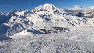 Tignes, Val D'Isere, Espace Killy, December 2019