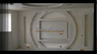 Repeat youtube video Design interior Living - gips carton (rigips) JaninaDesign